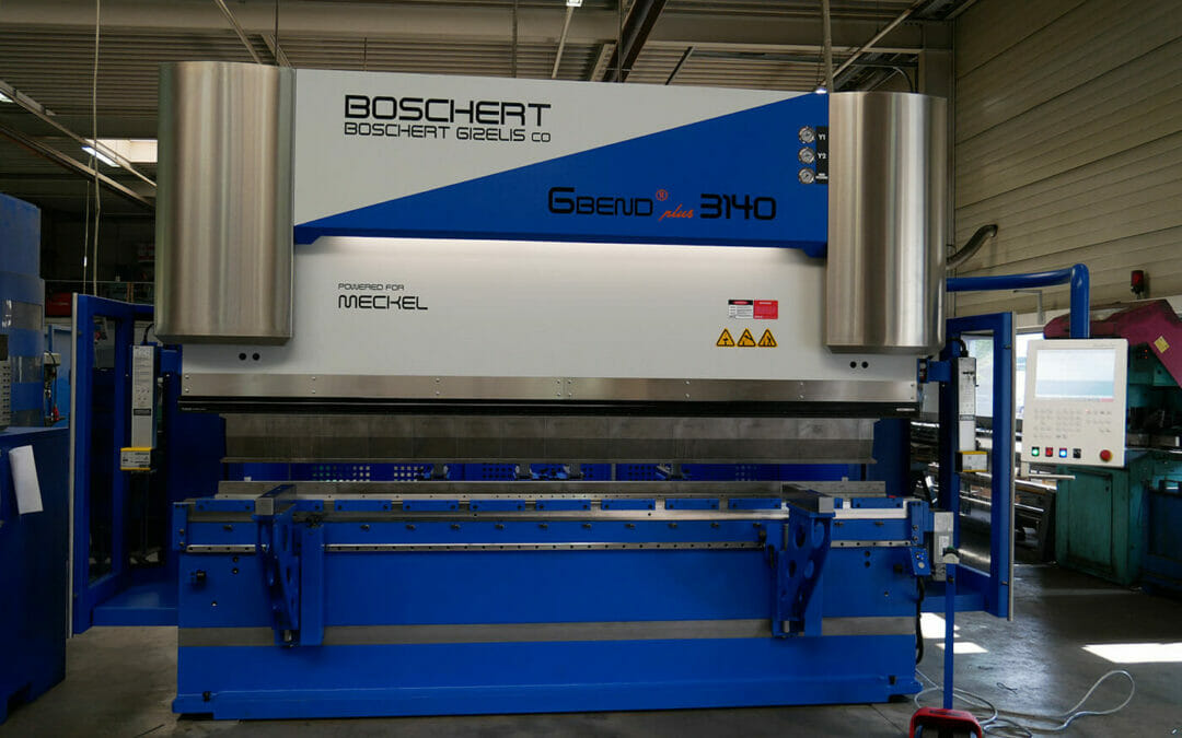 Maschinen-Anschaffung | powered for Meckel